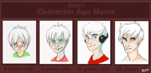Alan's Character Age Meme by Omikaya