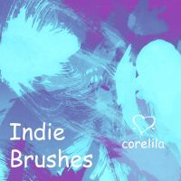 Indie Brushes by corelila