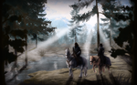 Eastmarch Hotsprings by SpaceSmilodon