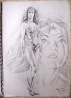 WONDER WOMAN by Ianrialdi