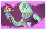 Alien Tentaculoso by rickrd