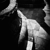 The Shadow of Stupa by thesaintdevil