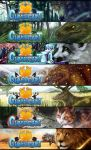 Clanheart - All Banners by elz-art