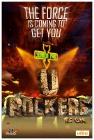 + UFONE - URock Poster by brainlessinc