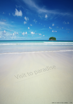 Movie Poster Visit to Paradise by Think-Creative