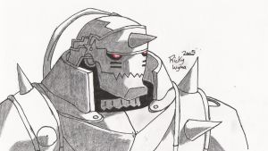 Alphonse Elric by BloodlustBakura