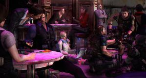 Resident evil 6 - A little party by PhlegmaticPerson