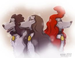 three Musketeers by azzai