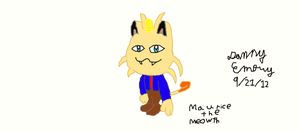Maurice The Meowth by Dancrew2010