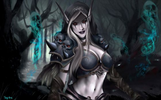 Sylvanas Windrunner by Toniji-Arts