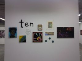 ten Exhibition: Group Wall by Lupus-deus-est