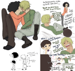 OP Yorki and Brook au by Nire-chan