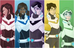 Legend of Korra X Voltron Legendary Defender by lilisys