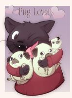 Collab - Anybody wanna Pugs by IzaPug