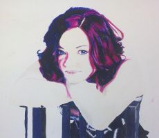 Self Portrait by MitzyButtons
