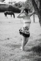 fashion and horse by Arielle-Fox