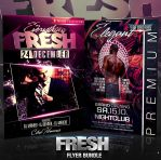 PSD Fresh Flyer Bundle - 2in1 by retinathemes