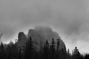 Shrouded in Clouds by geiersphotos