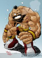 Zangief by Red-J by Zenzotron