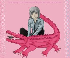 The Pink Alligator by Hincaru