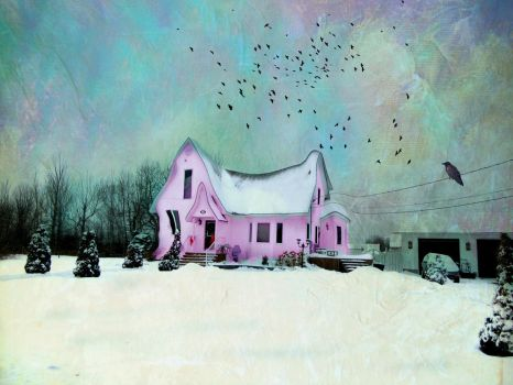 Little Pink House by artistic-touches