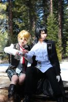 Pandora Hearts Oz Gil by quatre2323