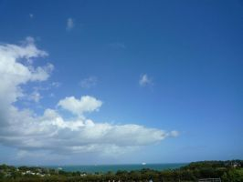 Sea and Sky by Renire-Stock