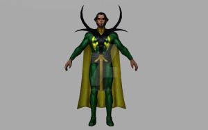 Baron Mordo (Comics / 3D Model MFF) by Pitermaksimoff