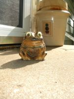 Hypnotoad incense burner by NoirScenery