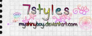 7 Colourful Styles by MyShinyBoy