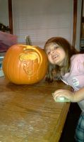 kandice's pumpkin 2010 by bigjbway23