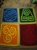 Avatar Blanket by PurpleTakara