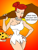 Wilma goes CLUBBING - Colour by LoudNoises