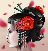 Geisha by edynae