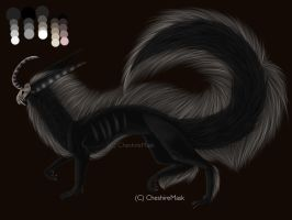 AUCTION Hybrid Eastern Dragon (CLOSED) by CheshireMask