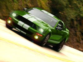 Ford mustang gt500 by exekillan