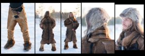 Prehistorical Costume inspired by Otzi the Iceman by Carancerth