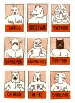 Fight Trading Cards by Teagle