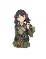 Kureha Suminoya - 1121st Platoon by The-King-in-Grey