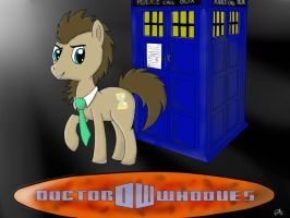 Doctor Whooves by TheCrimsonCanvas