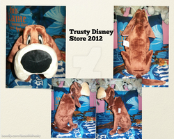 Trusty Plush Disney Store 2012 by BeautifulHusky