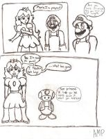 Mario Comic by Amphazere
