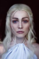Game of Thrones - Daenerys portrait by MilliganVick