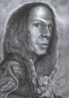 Ronnie James Dio by Angel6fdeath