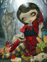 Red Riding Hood's Picnic by jasminetoad