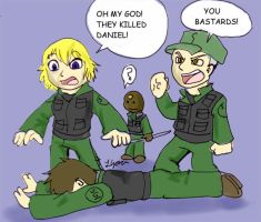 SG: OMG they Killed Danile by galaxyofgover