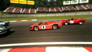 Ford Mark IV Race Car  Forest by lukas1135