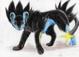 Luxray by RACHLOVEDRAW