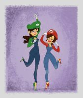 Super Maria Sisters by jeremyhopkins