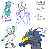 :WoW: - Doodle's by IronMeow